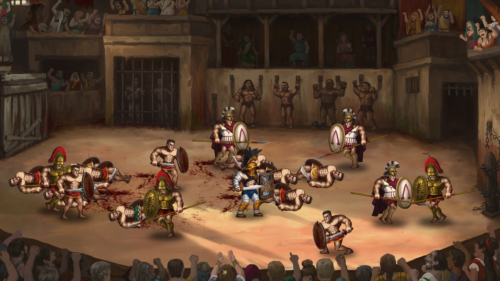 Story of a Gladiator – Greek Arena