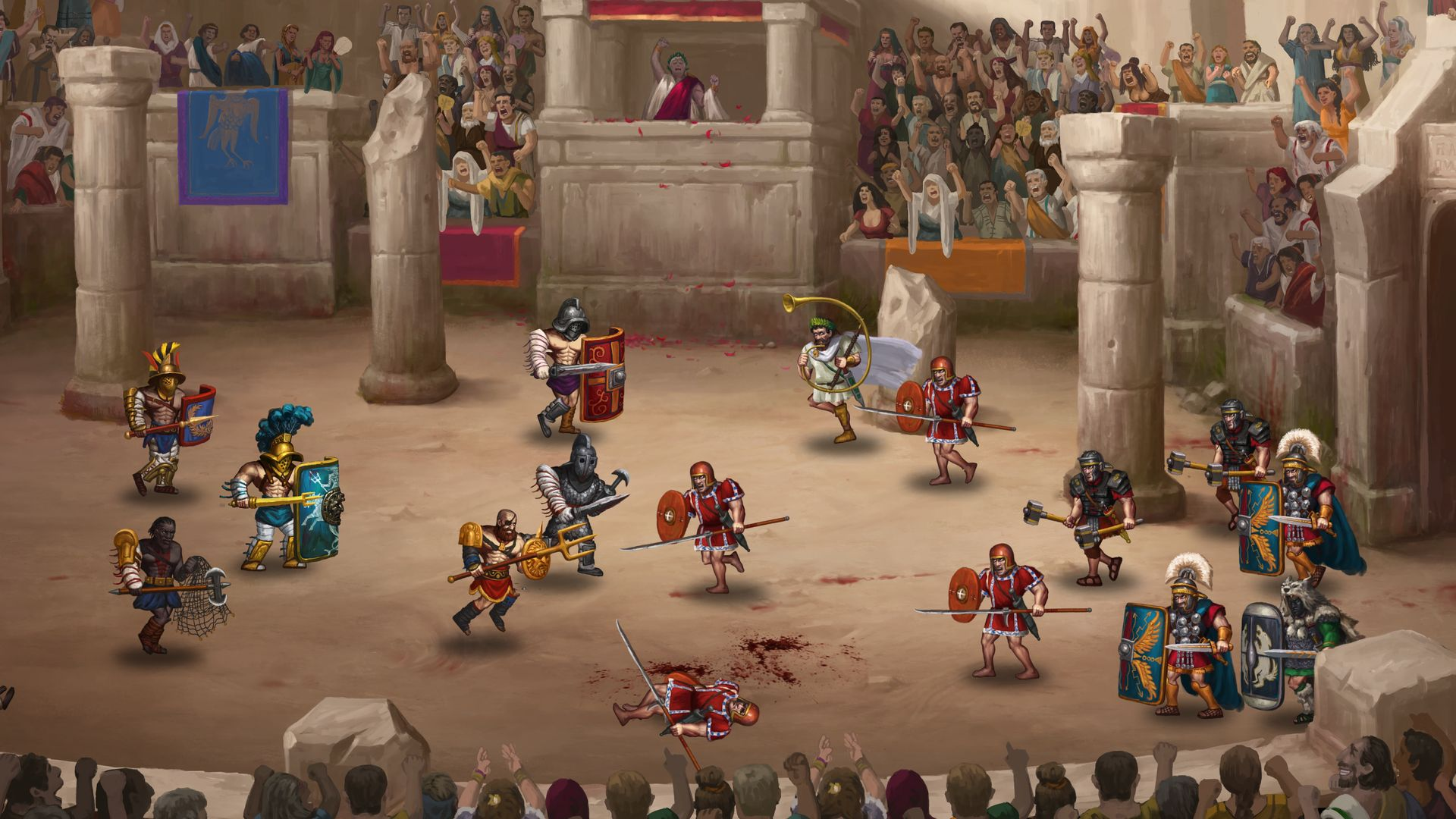 Story of a Gladiator – Colosseum