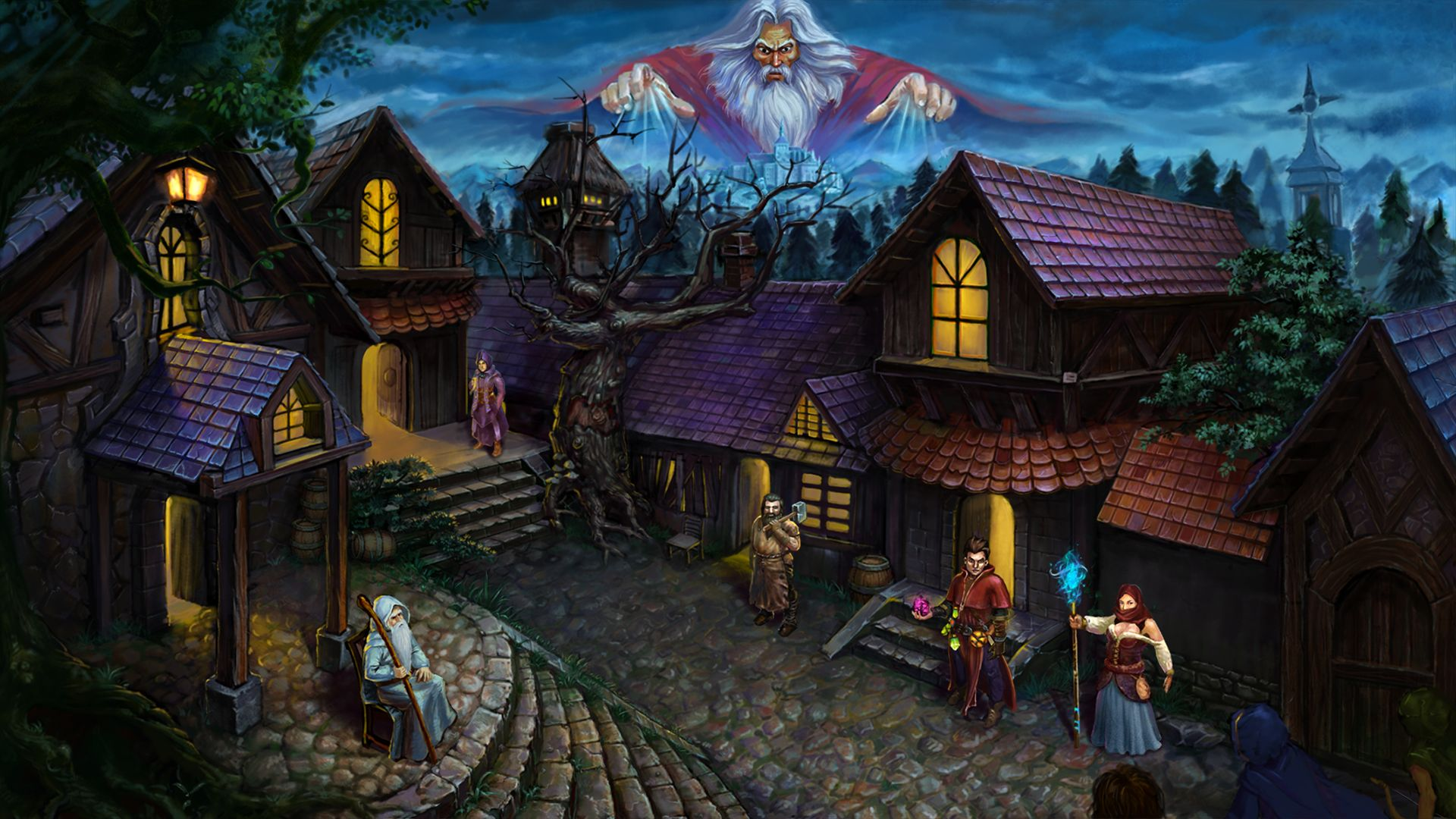 Dark Quest – Village